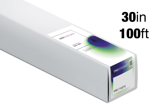 CO-RPSM-255, 30in x 100ft - 76.2cm x 30.5m: CMA ColorPack Nano Satin Paper 255g